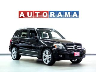 Used 2011 Mercedes-Benz GLK350 NAVI BACKUP CAM LEATHER PAN SUNROOF 4WD for sale in North York, ON