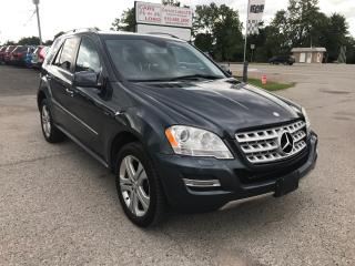Used 2011 Mercedes-Benz ML 350 BLUETEC for sale in Komoka, ON