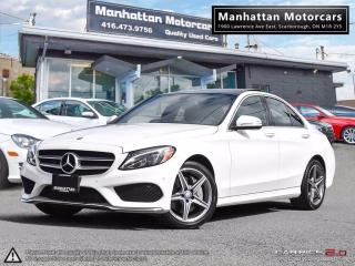 Used 2015 Mercedes-Benz C 300 C300 4MATIC AMG PKG |NAV|CAM|B.SPOT|WARRANTY for sale in Scarborough, ON