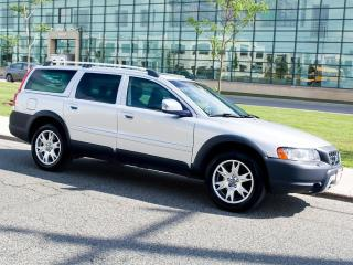 Used 2007 Volvo XC70 2.5T|AWD|7 SEATS|BLUETOOTH|LEATHER|ROOF|ALLOYS for sale in Scarborough, ON
