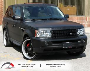 Used 2009 Land Rover Range Rover Sport HSE | Navigation | Sunroof for sale in North York, ON