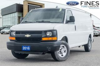 Used 2016 Chevrolet Express 2500 EXTENDED CARGO VAN for sale in Bolton, ON