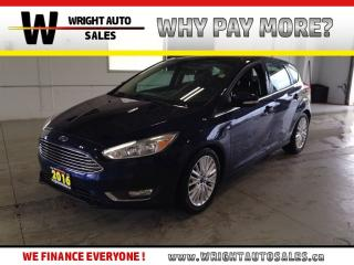 Used 2016 Ford Focus TITANIUM|NAVIGATION|SUNROOF|LEATHER|55,303 KMS for sale in Cambridge, ON