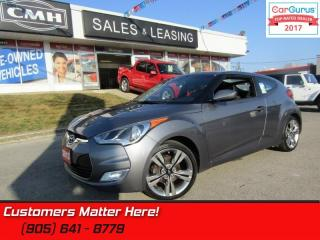 Used 2013 Hyundai Veloster Tech  NAVIGATION, REAR CAMERA, SUNROOF, MANUAL for sale in St Catharines, ON