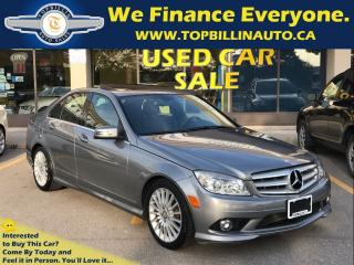 Used 2010 Mercedes-Benz C-Class C250 4MATIC, SUNROOF, Only 79K kms for sale in Concord, ON