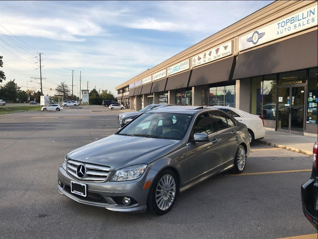 Used 2010 mercedes benz c class c250 4matic sunroof only for 2010 mercedes benz c250