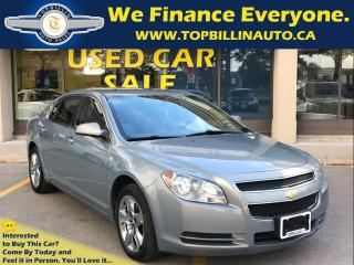 Used 2008 Chevrolet Malibu 1LT 4 Cylinder, 2 YEARS WARRANTY for sale in Concord, ON
