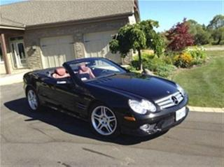 Used 2007 Mercedes-Benz SL-Class Roadster 160pt Certified for sale in Winnipeg, MB