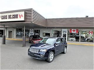 Used 2016 Jeep Compass HIGH ALTITUDE 4WD for sale in Langley, BC