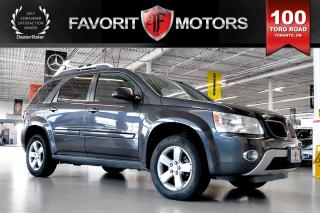 Used 2007 Pontiac Torrent FWD LTHR | 5-PASSENGER | HEATED SEATS | SUNROOF for sale in North York, ON