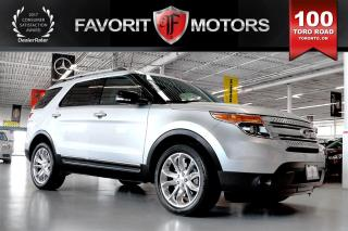 Used 2014 Ford Explorer XLT AWD | 6-PASSENGER | NAV | DVD | BACK-UP CAMERA for sale in North York, ON