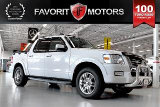 Used 2010 Ford Explorer Sport Trac Limited AWD | LTHR | REAR PARK AID | SUNROOF for sale in North York, ON