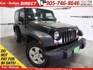 Used 2013 Jeep Wrangler Sport| 4X4| HARD TOP| OPEN SUNDAYS| for sale in Burlington, ON