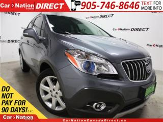 Used 2015 Buick Encore | LEATHER| SUNROOF| BACK UP CAMERA| for sale in Burlington, ON