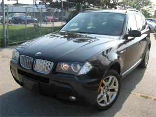 Used 2007 BMW X3 3.0Si M-SPORT PKG - PANORAMIC ROOF! for sale in North York, ON