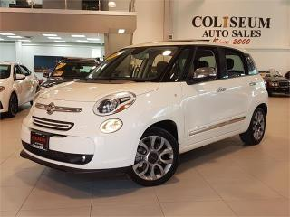 Used 2015 Fiat 500 L LOUNGE-AUTO-LEATHER-PANO ROOF-CAM-ONLY 82KM for sale in York, ON
