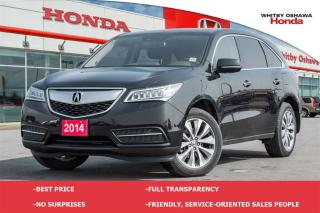 Used 2014 Acura MDX Technology Package  for sale in Whitby, ON