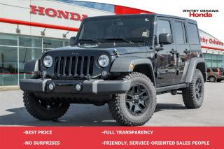 Used 2015 Jeep Wrangler UNLIMITED SPORT for sale in Whitby, ON