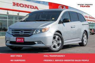 Used 2011 Honda Odyssey Touring for sale in Whitby, ON