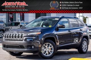 New 2018 Jeep Cherokee New Car North 4x4|ColdWthr,SafetyTecPkgs|BackUpCam|R-Start|17
