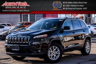 New 2018 Jeep Cherokee New Car North 4x4|ColdWthrPkg|BackUpCam|HeatFrntSeats|R-Start|17