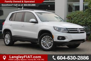 Used 2016 Volkswagen Tiguan Special Edition NO ACCIDENTS for sale in Surrey, BC