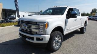 New 2017 Ford F-250 Super Duty SRW Platinum for sale in Stratford, ON