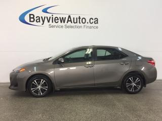 Used 2017 Toyota Corolla LE- ALLOYS! ROOF! HTD SEATS! REV CAM! CRUISE! for sale in Belleville, ON