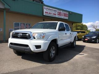 Used 2013 Toyota Tacoma V6 $168.81 BI WEEKLY! $0 DOWN! CREW CAB! 4x4! BACKUP CAMERA! CERTIFIED! for sale in Bolton, ON