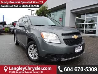 Used 2012 Chevrolet Orlando 1LT *ONE OWNER* DEALER INSPECTED* for sale in Surrey, BC