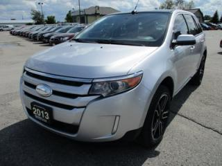 Used 2013 Ford Edge LOADED SEL MODEL 5 PASSENGER 3.5L - V6.. AWD.. LEATHER TRIM.. HEATED SEATS.. BACK-UP CAMERA.. NAVIGATION SYSTEM.. for sale in Bradford, ON