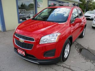 Used 2014 Chevrolet Trax LOADED 2-LT MODEL 5 PASSENGER 1.4L - ECO-TEC.. LEATHER TRIM.. TOUCH SCREEN.. BOSE AUDIO.. BACK-UP CAMERA.. BLUETOOTH.. for sale in Bradford, ON