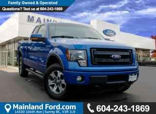 Used 2014 Ford F-150 FX4 LOCAL, NO ACCIDENTS for sale in Surrey, BC