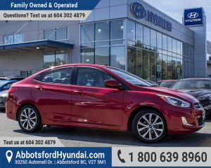 Used 2017 Hyundai Accent SE ACCIDENT FREE, BC OWNED & LOW KILOMETRES for sale in Abbotsford, BC