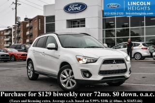 Used 2014 Mitsubishi RVR GT 4WD for sale in Ottawa, ON