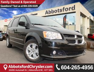 Used 2016 Dodge Grand Caravan Crew ACCIDENT FREE! for sale in Abbotsford, BC