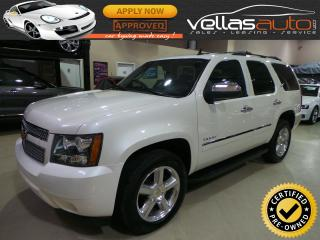 Used 2014 Chevrolet Tahoe LTZ| 7PASS| NAVI| SUNROOF| PEARL WHITE for sale in Woodbridge, ON