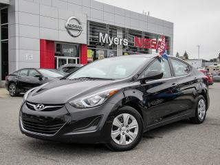 Used 2016 Hyundai Elantra CRUISE CONTROL, BLUETOOTH, POWER LOCKS/WINDOWS for sale in Orleans, ON