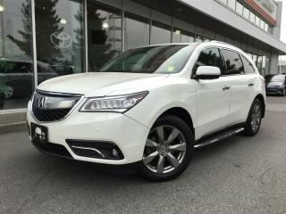 Used 2016 Acura MDX Elite Package,got it all,local for sale in Surrey, BC