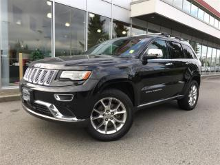 Used 2014 Jeep Grand Cherokee Summit,local,Nav for sale in Surrey, BC