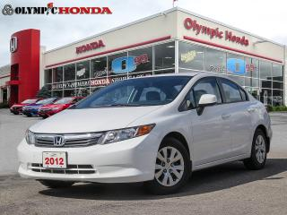 Used 2012 Honda Civic LX Sedan for sale in Guelph, ON