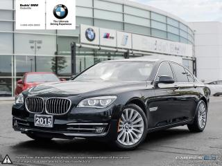 Used 2015 BMW 750i xDrive NAV|AWD|SUNROOF|ACTIVE SEAT for sale in Oakville, ON