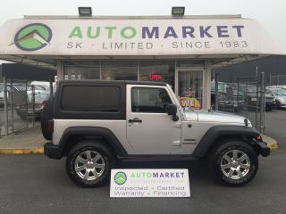 Used 2011 Jeep Wrangler Sport 4WD HARD TOP, AUTO, FINANCE IT! for sale in Langley, BC