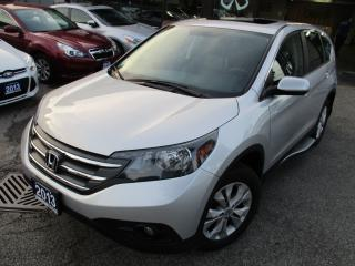 Used 2013 Honda CR-V EX-L-LEATHER-SUNROOF-SPORT-LOADED for sale in Scarborough, ON