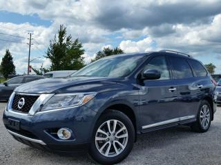 Used 2015 Nissan Pathfinder SL 4WD w/all leather,NAV,climate,heated seats,rear cam,dual sunroof for sale in Cambridge, ON