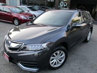Used 2016 Acura RDX TECH-PKG-NAVIGATION-CAMERA-BLUE-TOOTH-LOADED for sale in Scarborough, ON