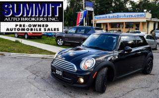 Used 2013 MINI Cooper BAKER STREET | CAR-PROOF CLEAN | ONE OWNER for sale in Richmond Hill, ON