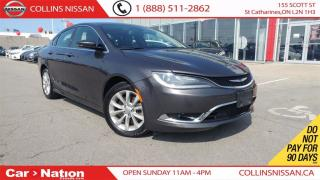 Used 2015 Chrysler 200 200C | ALLOYS | LEATHER | BACK-UP CAM for sale in St Catharines, ON