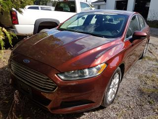 Used 2015 Ford Fusion S for sale in Orillia, ON