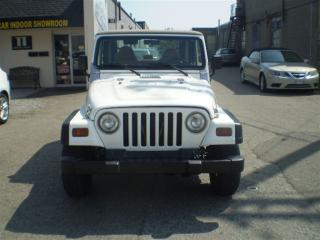 Used 1998 Jeep TJ SE 4X4! RARE MANUAL! SERVICE RECORDS! for sale in Etobicoke, ON